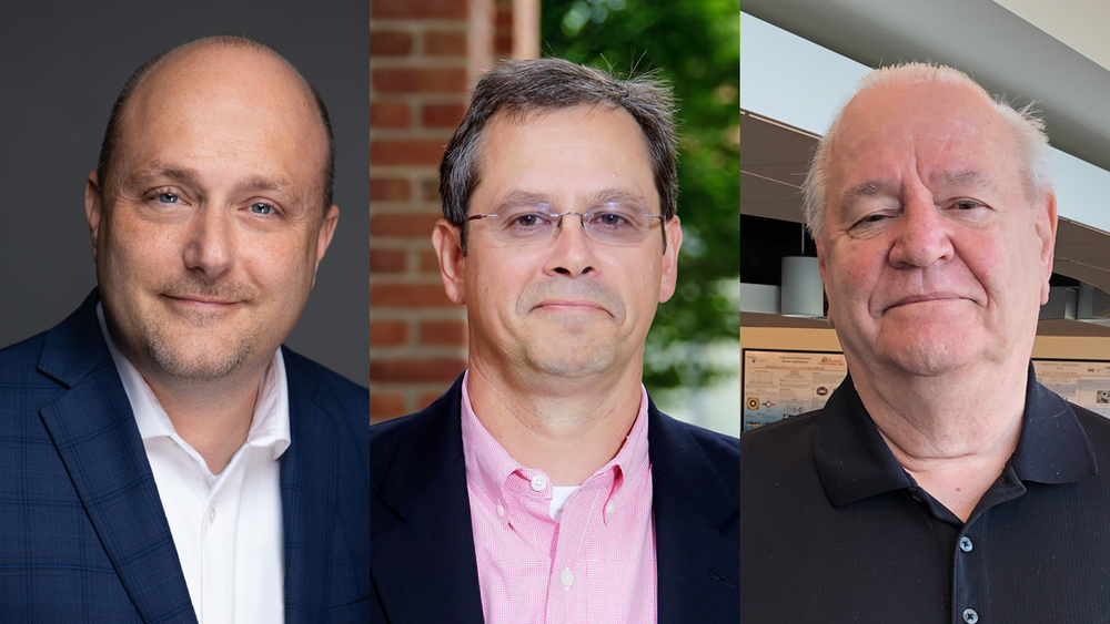 Steve Bugajski, chief information officer for U.S. Steel, Brad Postema, chief investment officer for Erie Insurance Group, and Dan Levstek, president for MDL International, have been named Executives in Residence (EIR) in the Black School of Business.