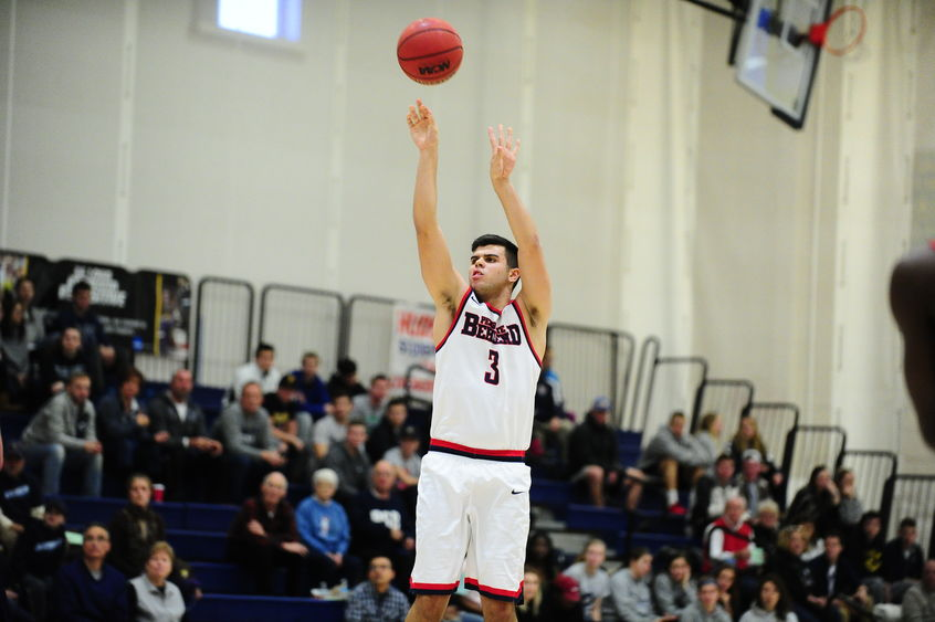 Penn State Behrend basketball player Connor McLaughlin
